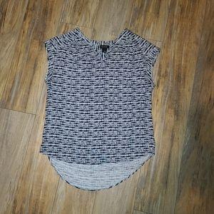 a.n.a. Short Sleeve Rayon Blouse